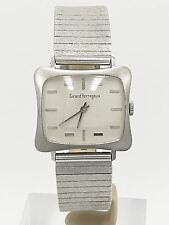 Girard Perregaux Vintage 18K White Gold TV Watch