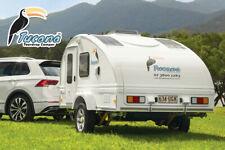 Tucana Teardrop Camper Ultra-light Weight Trailer Large Tent