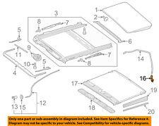 MERCEDES OEM 12-16 E350 Sunroof-Drain Hose Elbow 0019989301