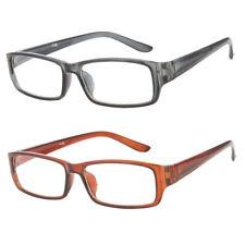 Medium Classic  Vintage Glasses Reading Clear Lens Plastic Frame Nerd Glasses