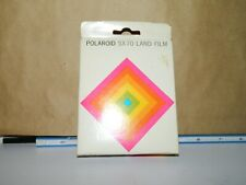 Vintage Exp 1978 Polaroid SX-70 Land Film NIB 10 Pictures Per Box
