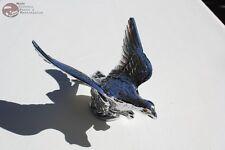Flying Eagle Lighted Eyes Chrome Hood Ornament Custom Truck Chevy Hot Rat Rod