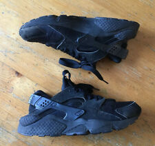 Nike Air Huarache Zapatillas-Negro-UK Size 8 EU 42.5 Zapatos 318429-008