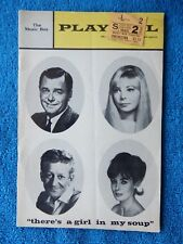 There's A Girl In My Soup - Music Box Playbill w/Ticket - March 2nd, 1968