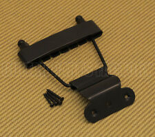 TP-ETS-B Black Short Trapeze Tailpiece For Thin Hollowbody And Solid Guitars