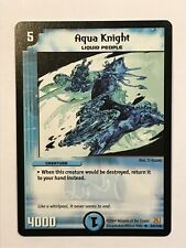 Aqua Knight Duel Masters DM01 Rare card TCG CCG