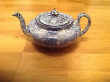 REDUCED J Kent Fenton Ye Olde Foley Ware( 1 Extremely Rare Blue & White Teapot)