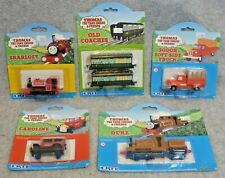 Five (5) Thomas and Friends Items- Early Small Cloud packaging- New in Package!