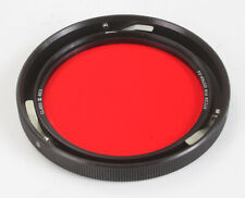 """HYCON CLASS III RED FILTER, PART NO. 120769-3A, 3-PIN MOUNT ~4""""/177036"""
