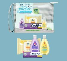 Tiny Traveler Baby Gift Set Baby Bath Skin Care Essential Products 5 Items