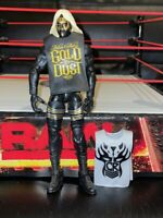 WWE MATTEL ELITE GOLDUST SERIES 29 WRESTLING FIGURE with WIG & 2 VESTS