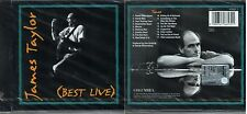 TAYLOR JAMES BEST LIVE SWEET BABY JAMES HANDY MAN CD SEALED