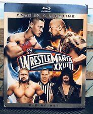 WWE Wrestlemania 28 Blu-ray 2 Disc SLIPCOVER The Rock Cena Undertaker HBK HHH