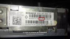 déblocage code radio Renault
