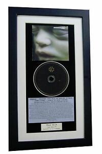 RAMMSTEIN Mutter CLASSIC CD Album GALLERY QUALITY FRAMED+EXPRESS GLOBAL SHIPPING