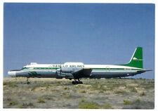 DAALLO Airlines Ilyushin IL-18 Postcard