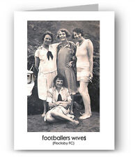 Footballers Wives Nostalgic Greeting Card