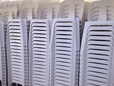 Solid Stackable Plastic Chairs NEW