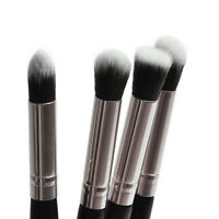 4Pcs Pro Eyeshadow Blending Powder Foundation Brush Set Cosmetic Makeup Tools