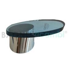 Palanca apertura agua bañera cristal cromo azulado 46383IM0 para Tarón Grohe