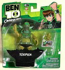 Ben 10 Omniverse ToePick Bandi Action Figure Tennyson Alien Brand New Free Ship