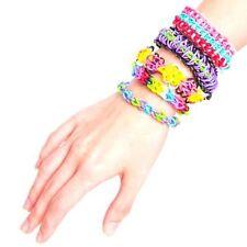 Lot of TWO!! Optari Mini Loom Multicolor Rubber Band Bracelet Making Kit