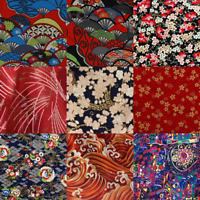 100% Cotton Fabric Japanese Patchwork DIY Clothing Sewing Craft Cloth Wide 150cm
