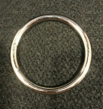 "O Ring - 2 1/2"" - Nickel Plated - Pack of 4 (F253)"