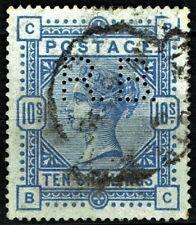 GB QUEEN VICTORIA 1883, ERROR, £825.00, 10s PALE ULTRAMARINE, Mi84ax SG183a Used