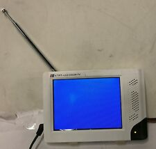"""COP MC060TV-W High Resolution 6"""" TFT/LCD Monitor and Color TV Tuner (White)"""