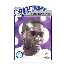Topps UCL Living Set - Card 292 - Ferland Mendy - Real Madrid