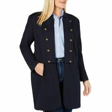 TOMMY HILFIGER NEW Womens Navy Plus Size Band Topper...