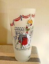 30 Oz bar drink Cabaret Mixer Can Can Girl Glass Barware Ware ❤️tb5m