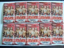 2019 Topps WWE RAW WRESTLING CARDS 10-Pack Lot Retail