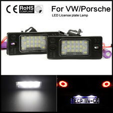 LED License Plate Light For PORSCHE CAYENNE 2002-2010 2003 2004 2005