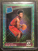 2018-19 Donruss Optic Choice Collin Sexton Green Dragon Prizm Rookie RC #180🐉🔥