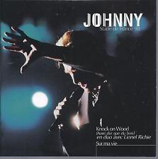 Johnny Hallyday et Lionel Richie  CD deux titres Knock on wood et sur ma vie