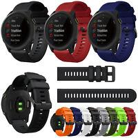 22mm Silikon Armband Uhrenarmband Strap Band für Garmin Forerunner 745 Watch Uhr
