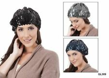 Chapeaux bérets noir pour femme