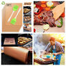 BBQ GRILL MAT set of 3 or 5 sheets, Reusable, Non-stick, Make Grilling Easy BBQ!