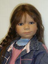"37"" Annette Himstedt Fina 2004 Club Doll w/Box & COA"