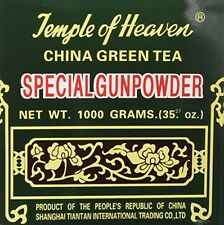 China Green Tea Special Gunpowder 1 Kilo (1000grams or 35.27 Oz) Guaranteed