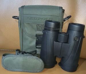 Leupold McKinley HD BX-4 10x42mm Black Binoculars # 117790 EXCELLENT TO MINT