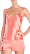 La Perla Studio Dolce M Silk Sleep Shorts Coral Pink