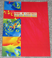 PAUL McCARTNEY Vintage Concert Tour Program 1993 Tourbook BEATLES Rare MACCA NEW