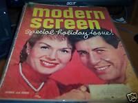Modern Screen December 1957 Debbie Reynolds & Eddie