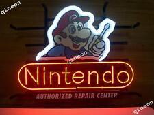 New Nintendo Repair Center Super Mario Game Room Neon Sign Light [ Best Design ]