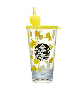 Starbucks Korea 2020 Summer Limited Lemon Splash Coldcup Tumbler 591ml+Tracking