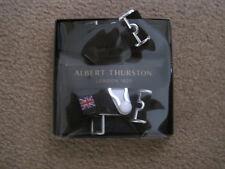 Albert Thurston Sock Suspenders in navy