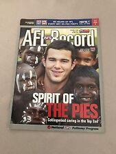 AFL 2003 Football Record Collingwood V Carlton Round 17